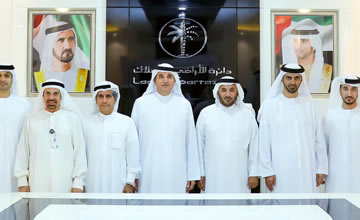 Dubai Land Department with Etisalat